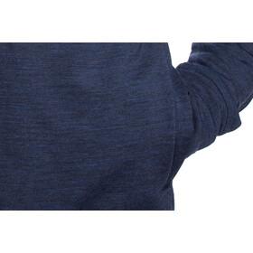 Icebreaker Shifter T-shirt manches longues à col ras-du-cou Homme, dark night heather
